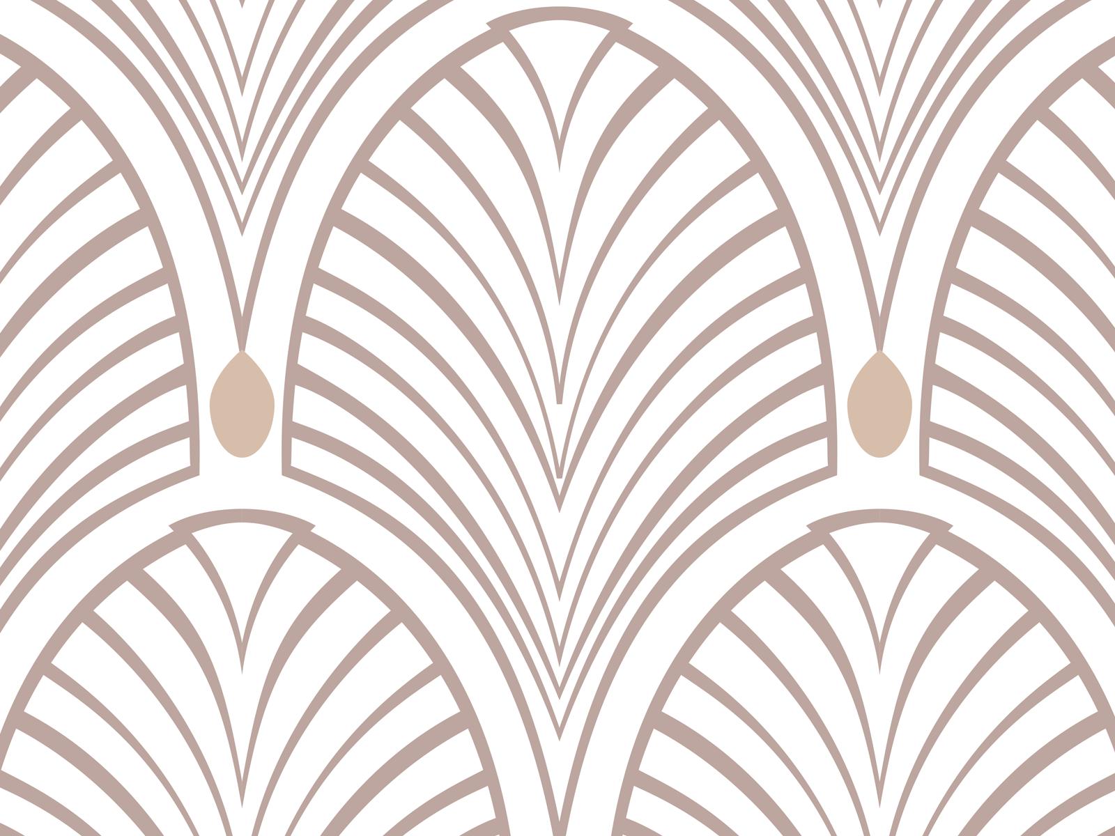 papier peint adh sif art d co mod le gatsby beige. Black Bedroom Furniture Sets. Home Design Ideas