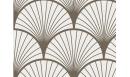 Adhésif contremarches Seigaiha beige - adhésif pour contremarches - Le Grand Cirque