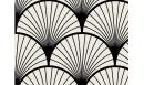 Contremarches adhésives Seigaiha Noir - CMV-SEI-BK - Le Grand Cirque