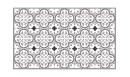 Tapis vinyle Tuileries Moka - tapis vinyle - Le Grand Cirque
