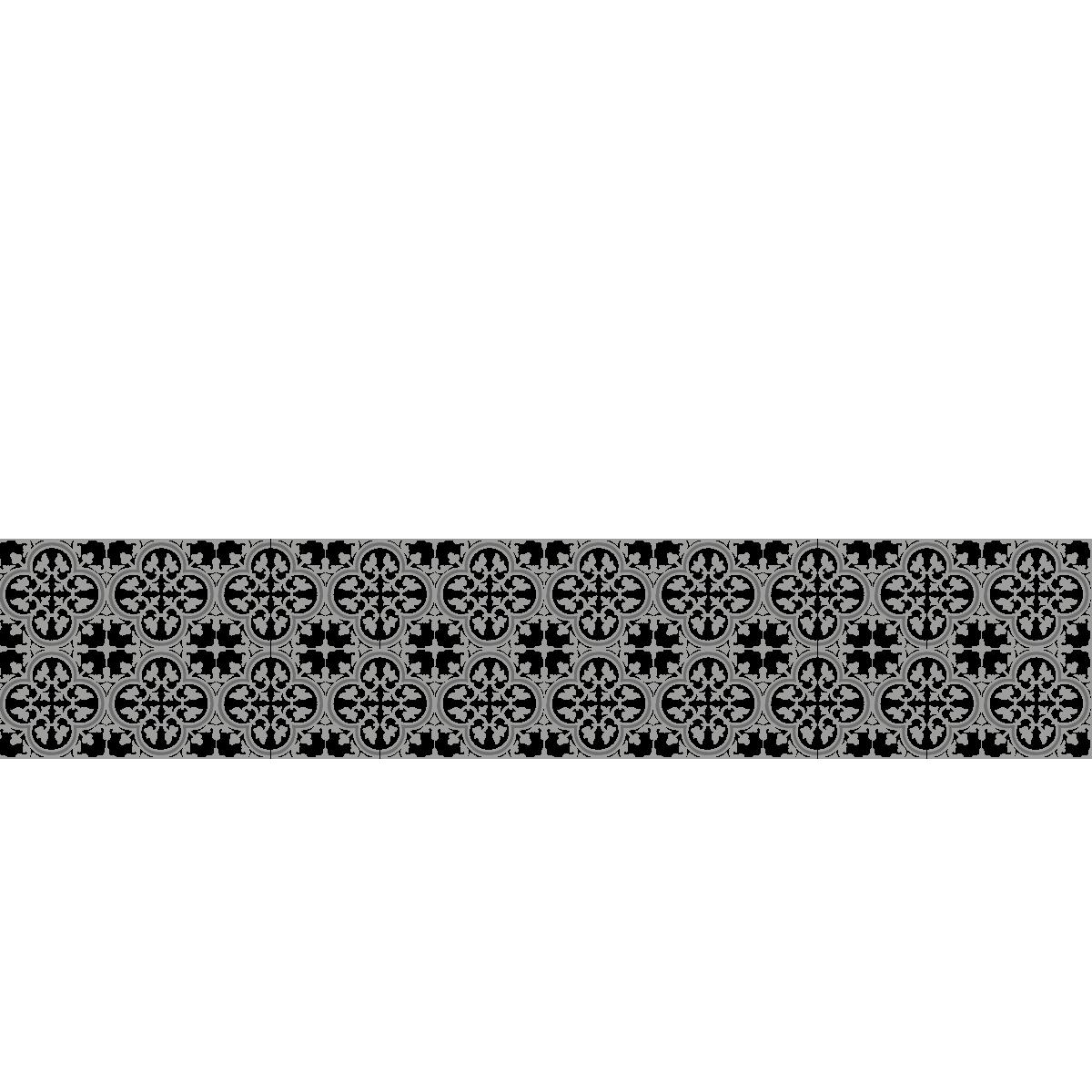Cr dence adh sive sur mesure mod le carreaux de ciment tuileries - Credence adhesive carreau ciment ...