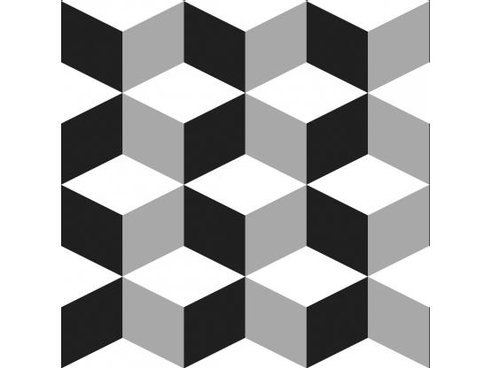 Crédence adhésive sur mesure Cubic - Crédence autocollante - Le Grand Cirque