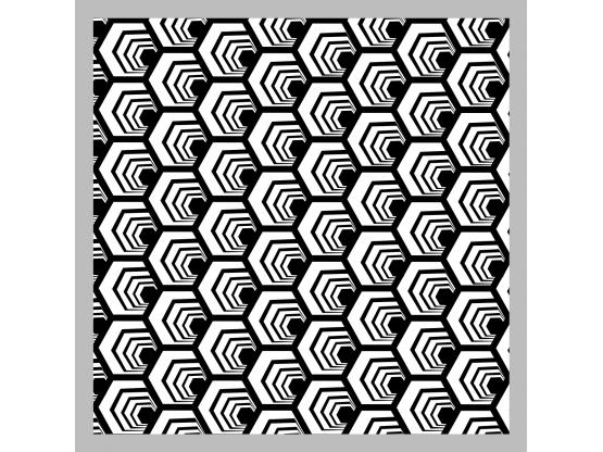 Tapis vinyle sur mesure alvéole - Tapis vinyle sur mesure - Le Grand Cirque