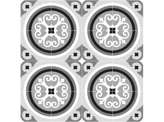 Tapis vinyle sur mesure rosace - Tapis vinyle sur mesure - Le Grand Cirque