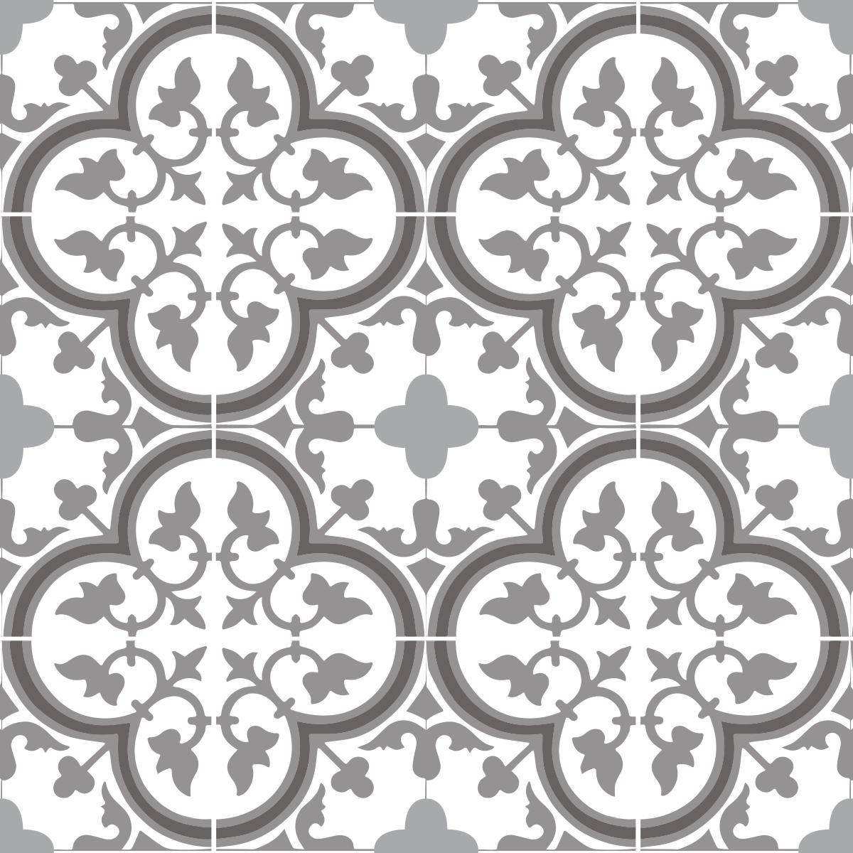 Tapis Imitation Carreaux De Ciment Vinyle tapis vinyle sur mesure tuileries base beige