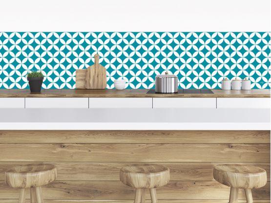 Cr dences adh sives pour la cuisine salle de bain for Credence decorative adhesive