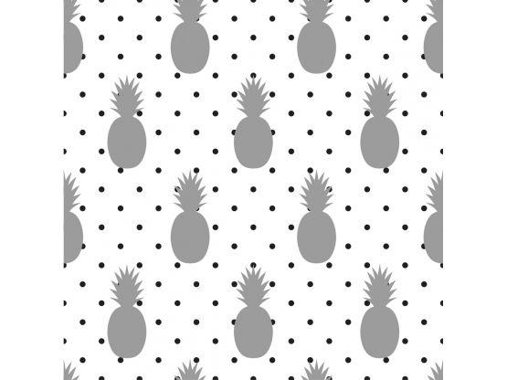 papier peint adh sif sur mesure mod le ananas. Black Bedroom Furniture Sets. Home Design Ideas