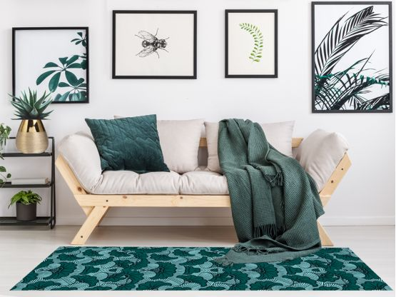 Tapis vinyle Wax Eucalyptus - tapis vinyle - Le Grand Cirque