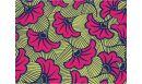 Tapis vinyle Wax rose Amarante - tapis vinyle - Le Grand Cirque