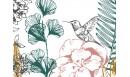 Papier peint panoramique adhésif Orée du bois Vert forêt - PNV-ORE-VF - Le Grand Cirque