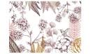 Papier peint panoramique adhésif Orée du bois Terracotta - PNV-ORE-TE - Le Grand Cirque