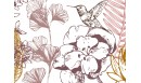 Tapis vinyle Orée du bois Terracotta - TAV-ORE-TE - Le Grand Cirque