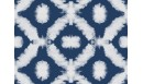 Tapis vinyle Shibori Bleu cobalt - TAV-SHI-BU - Le Grand Cirque
