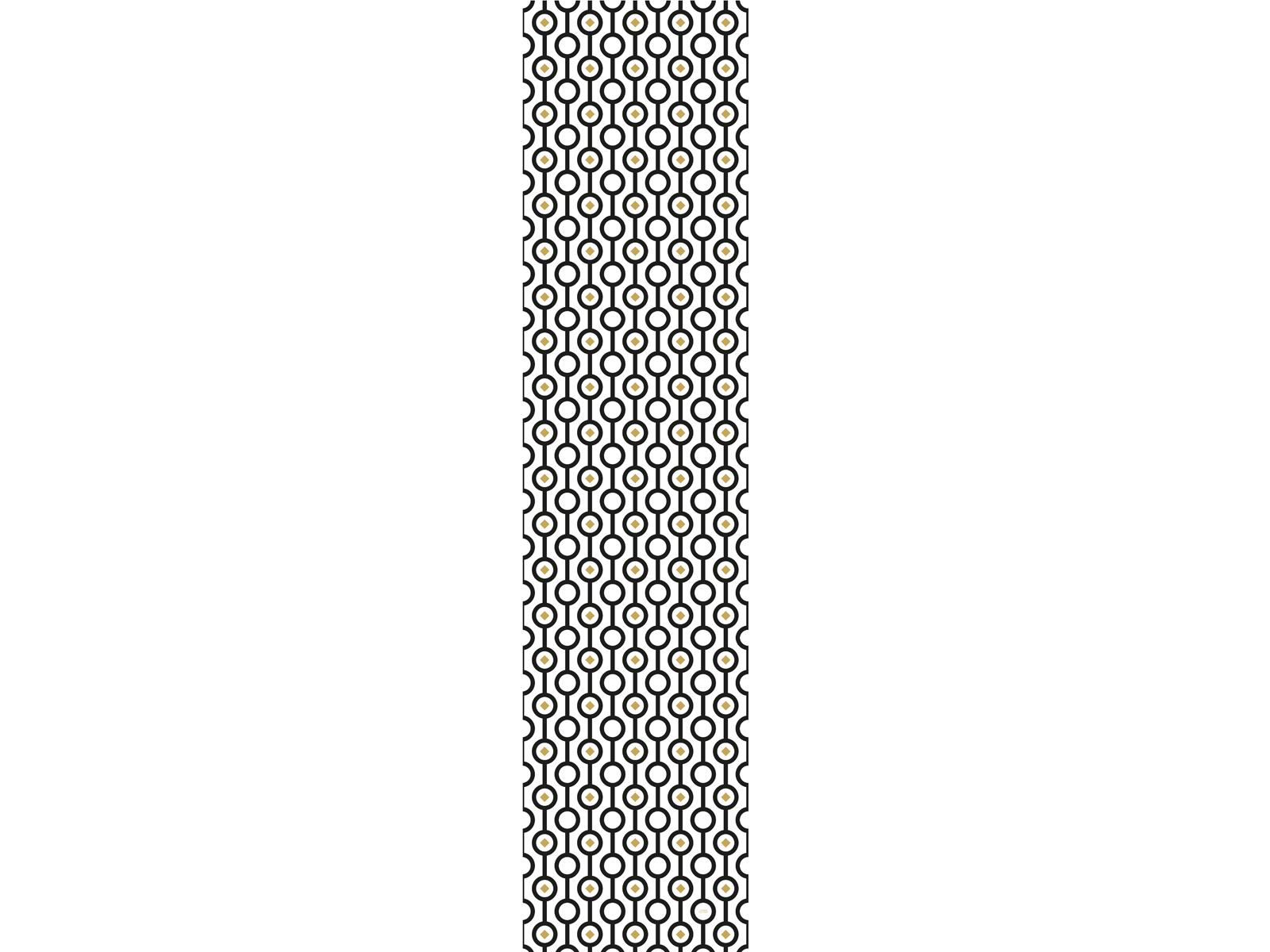Papier peint adh sif motifs retro mod le voie lact e for Papier peint adhesif repositionnable