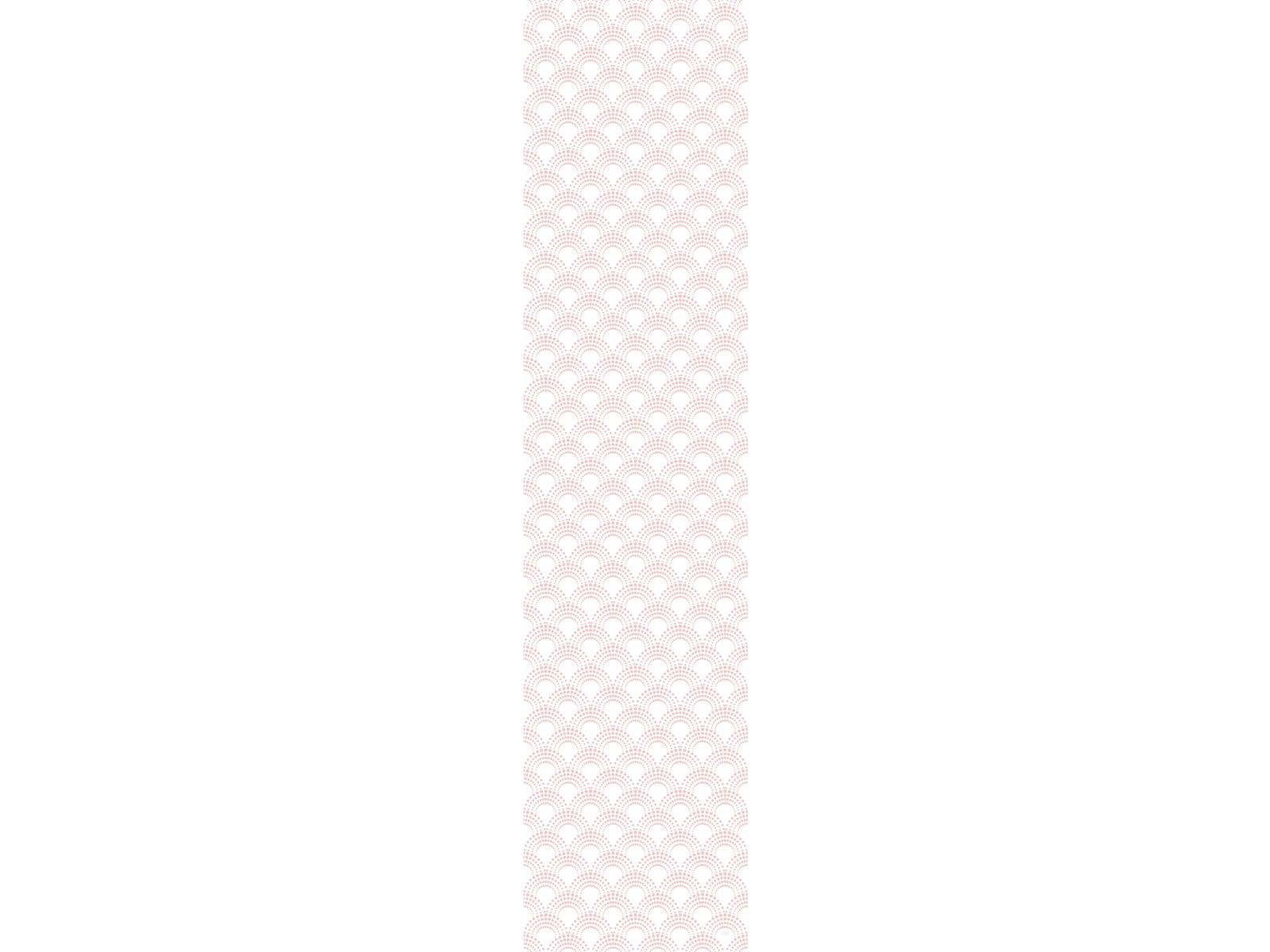 Papier peint adh sif vagues rose mod le clair de lune for Papier peint adhesif repositionnable