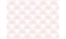 Papier peint adhésif Clair de Lune rose - papier peint autocollant - Le Grand Cirque