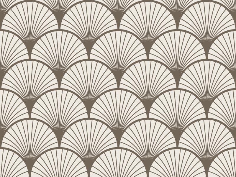 papier peint adh sif art d co mod le seigaiha beige. Black Bedroom Furniture Sets. Home Design Ideas