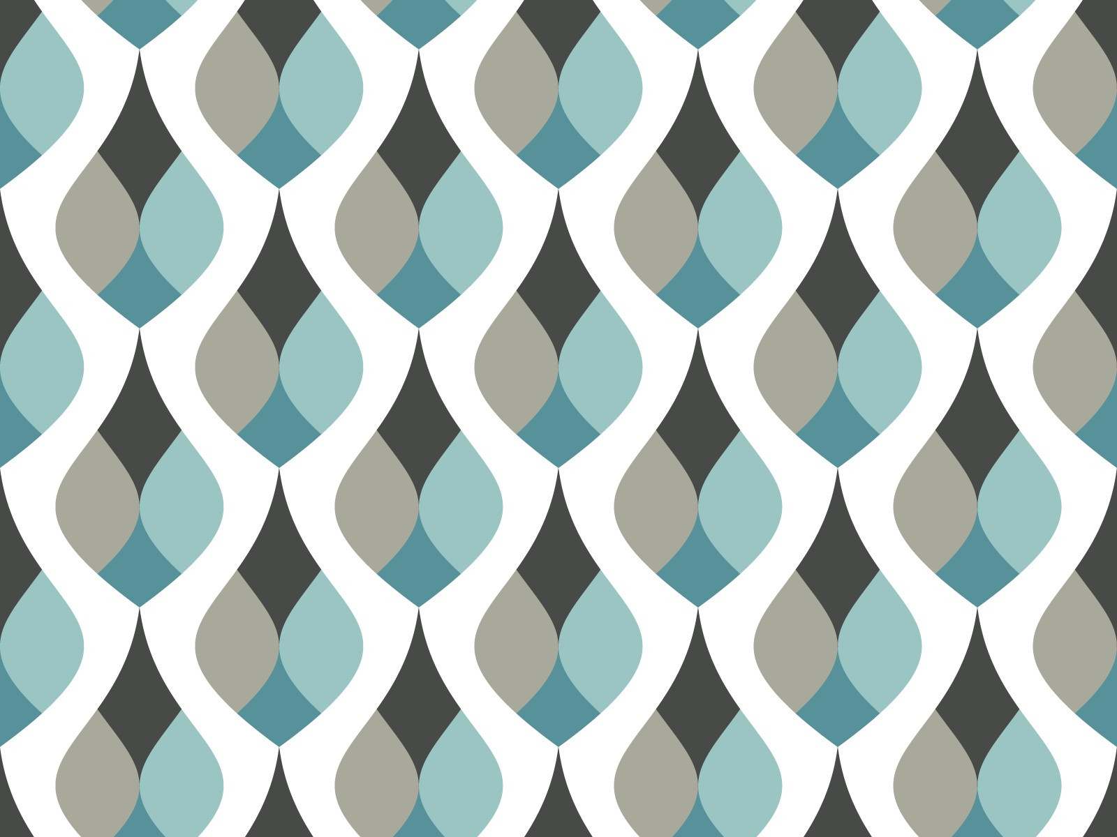 Papier peint adh sif gouttes retro mod le cooper bleu for Papier peint adhesif repositionnable