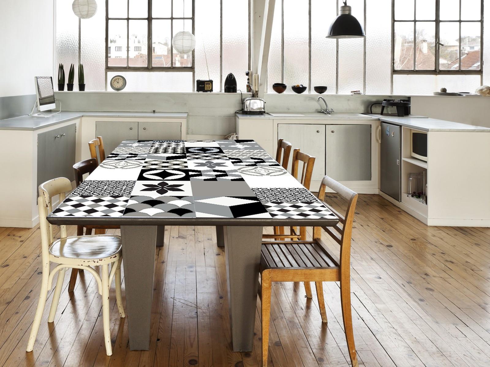 Cr dence adh sive carreaux de ciment manufacture - Carreaux adhesifs cuisine ...