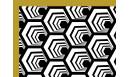 Tapis vinyle Alvéole cuivre - tapis vinyle - Le Grand Cirque