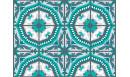 Crédence adhésive Tanger Mint - crédence autocollante - Le Grand Cirque