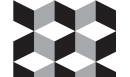 Crédence adhésive Cubic - crédence autocollante - Le Grand Cirque
