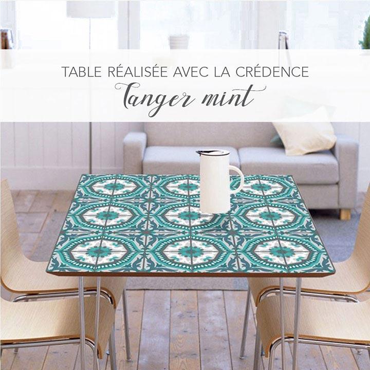 Crédence cuisine pour décorer table