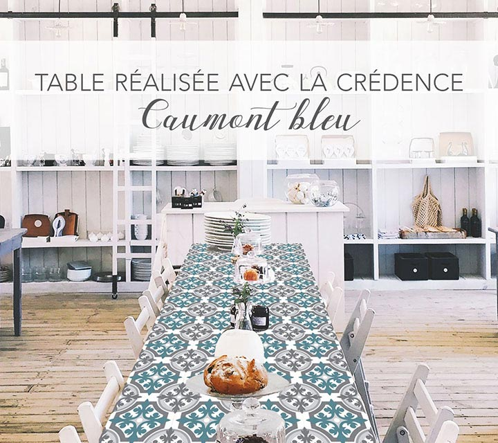 embellir sa table avec une crédence de cuisine