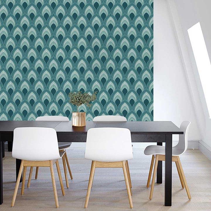 Rouleaux de papier peint pour décorer les meubles
