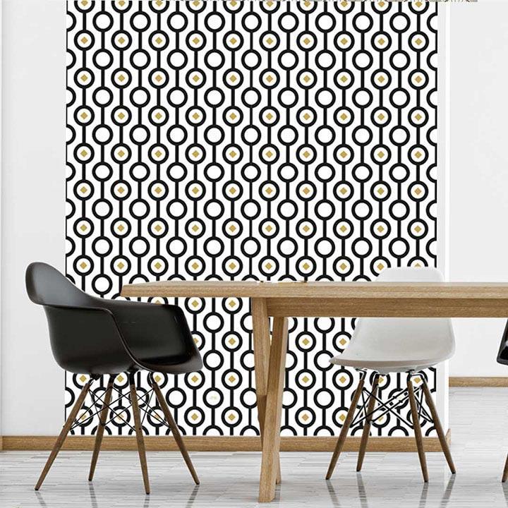 Papier mural adhésif pour relooker les meubles