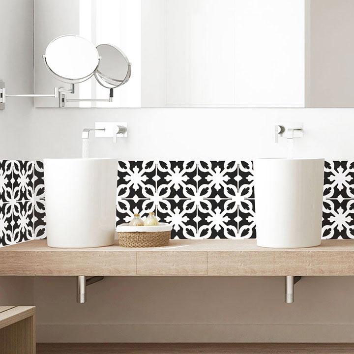 Salle de bain avec motif CASTIGLIONE