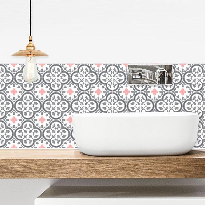 vasque salle de bain et crédence adhésive Tuileries