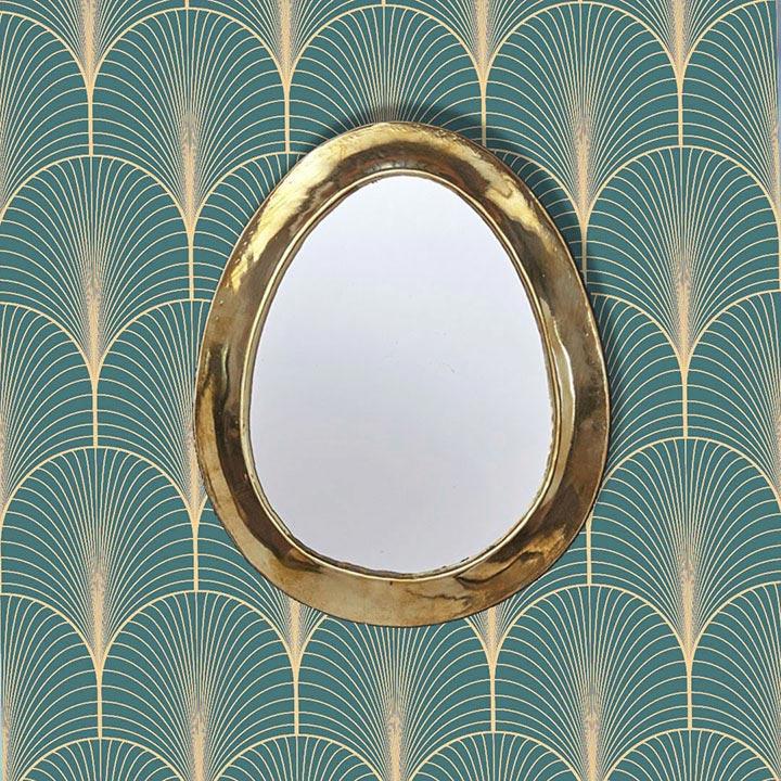 Miroir sur papier peint adhésif sur mesure Le Grand Cirque