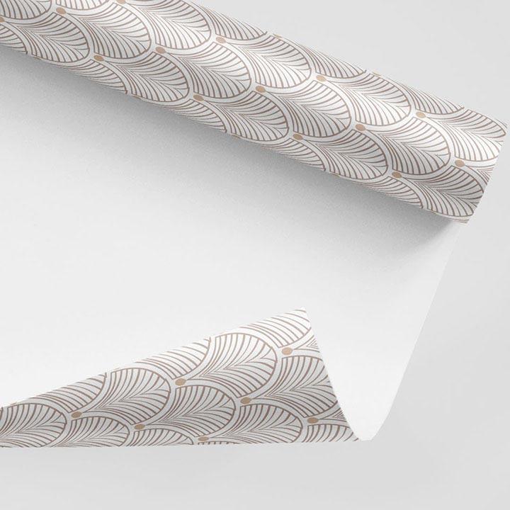 Rouleau de papier peint adhésif Gatsby Beige