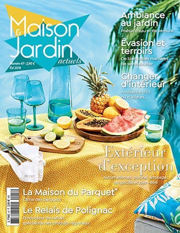 Maison & Jardin actuels - Construction/rénovation - Le Grand Cirque Collection d'été d'inspiration végétale