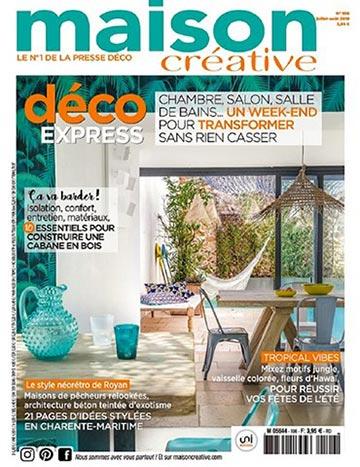 Maison Créative - Sas végétal - Papier peint adhésif REVE
